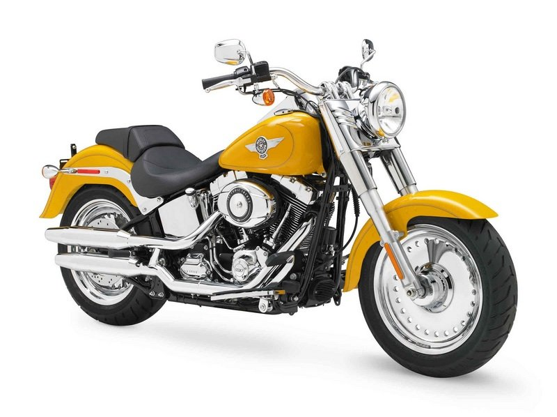 2012 Harley-Davidson Softail FLSTF Fat Boy