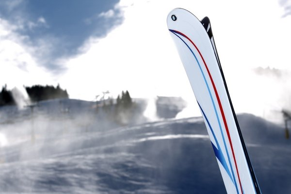 ... has created a series of limited edition skis to hit the slopes.