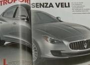 Leaked images of the brand new Maserati Quattroporte surface on the Net (UPDATED and FAKE) - image 435317