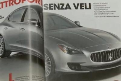 Leaked images of the brand new Maserati Quattroporte surface on the Net (UPDATED and FAKE)