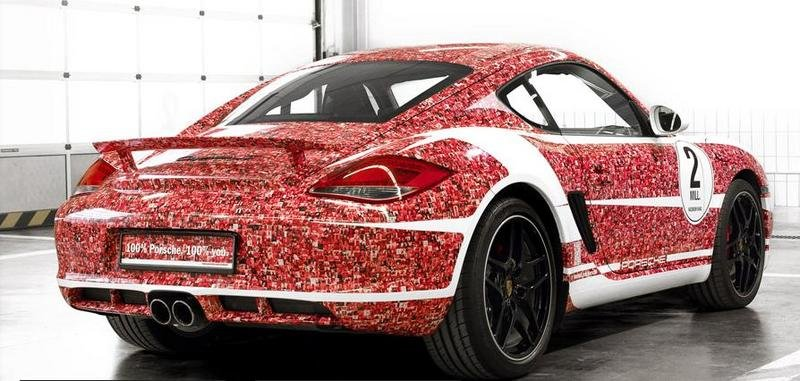 2012 Porsche Cayman S Facebook Edition