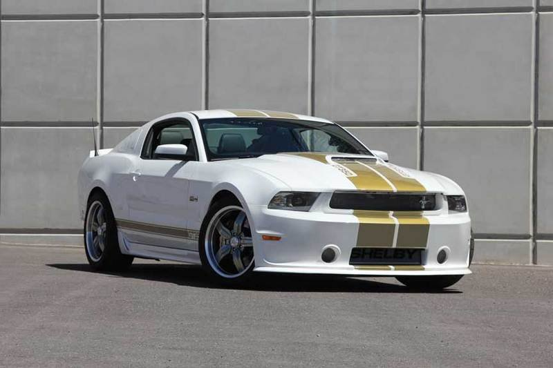 2012 Ford Mustang Shelby GT350 50th Anniversary Edition