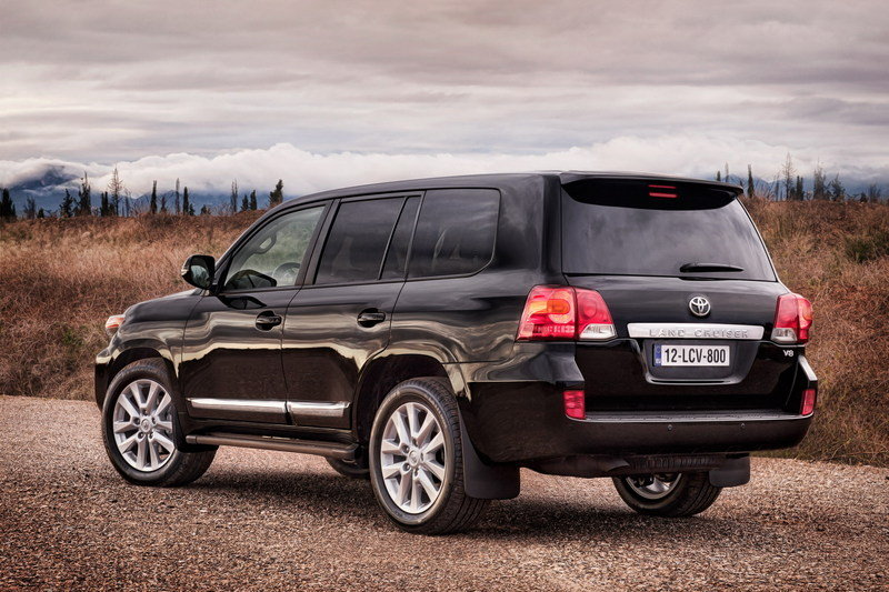 2013 Toyota Land Cruiser High Resolution Exterior - image 432827