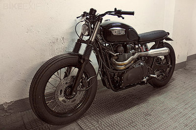 2007 Triumph Bonneville by CRD