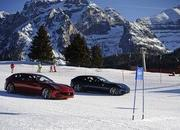Video: Alonso & Massa with the Ferrari FF on the snow - image 433944
