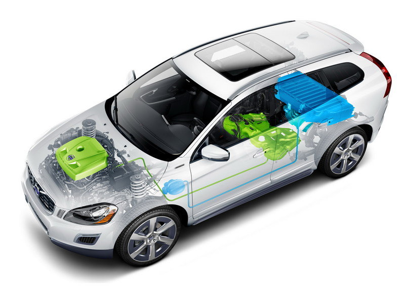 2012 Volvo XC60 Plug-in Hybrid Concept