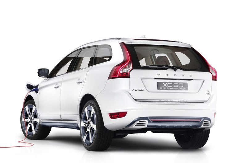 2012 Volvo XC60 Plug-in Hybrid Concept High Resolution Exterior - image 432610