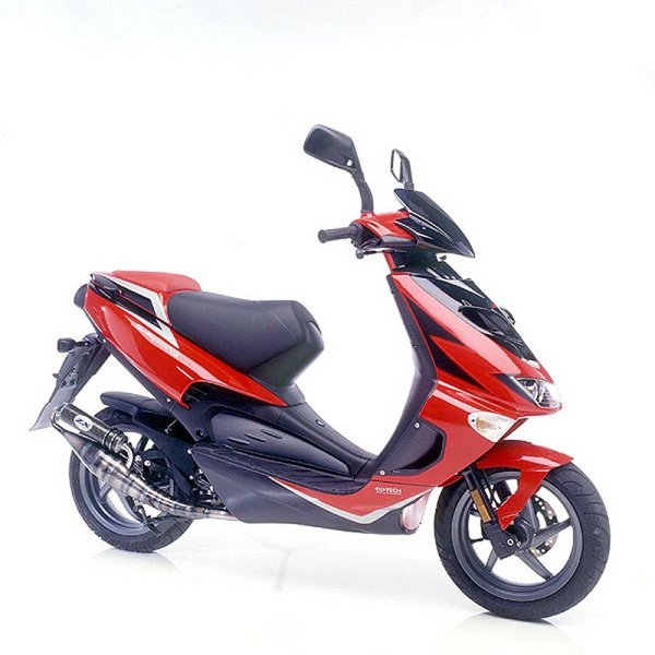 Motorcycle Review Top Speed: 2012 Aprilia SR 50 Street - Picture 439175
