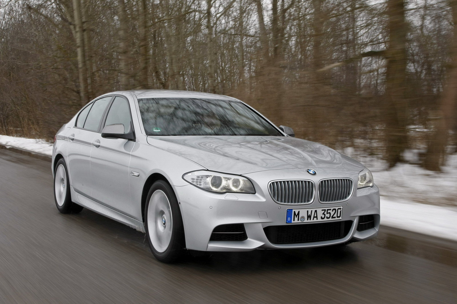 2012 Bmw M550d Xdrive Review Top Speed
