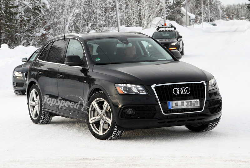 Spy Shots: Facelifted Audi Q5 ditches its camouflage for further testing
