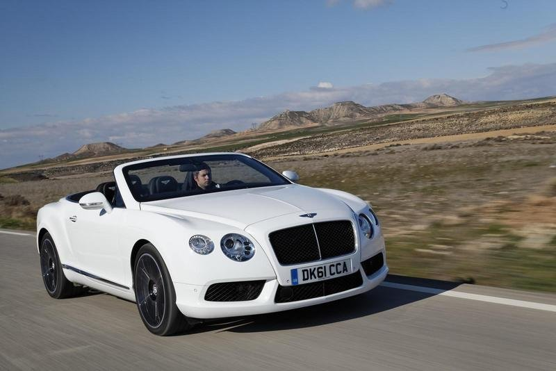 2013 Bentley Continental GTC V8 High Resolution Exterior - image 438811