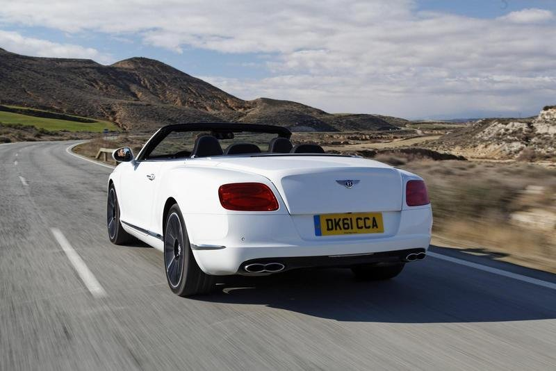2013 Bentley Continental GTC V8 High Resolution Exterior - image 438812