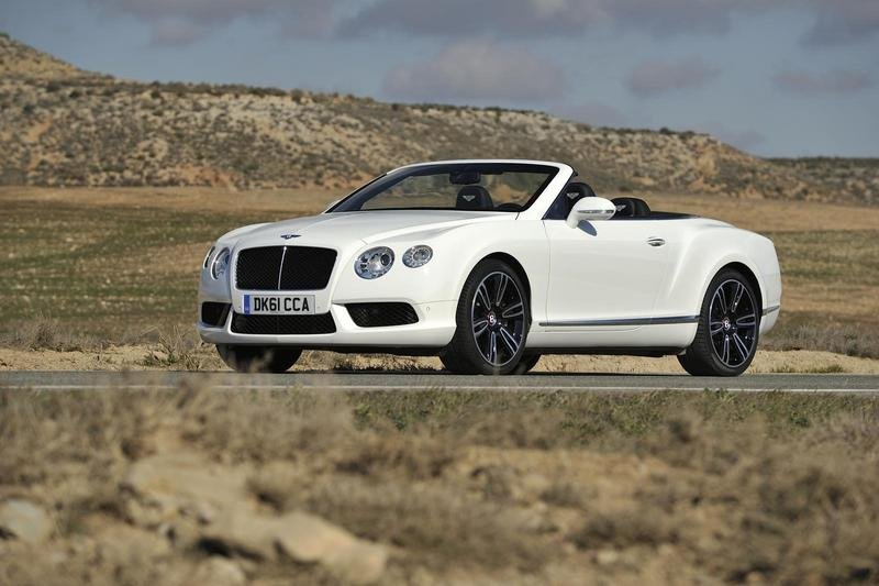 2013 Bentley Continental GTC V8 High Resolution Exterior - image 438817