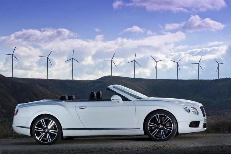 2013 Bentley Continental GTC V8 High Resolution Exterior - image 438818