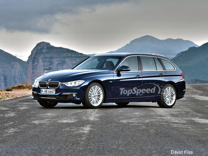 2014 BMW 3 Series Sports Wagon Computer Renderings and Photoshop - image 439306