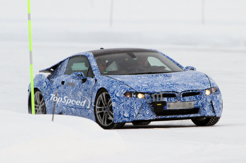 Spy Shots: BMW i8 takes its turn testing in Northern Sweden