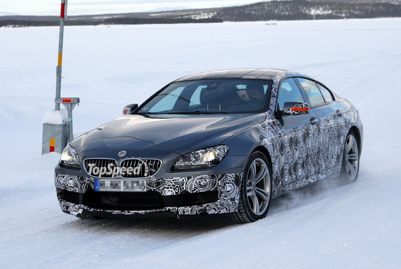 Spy Shots: BMW M6 Gran Coupe caught testing for the first time