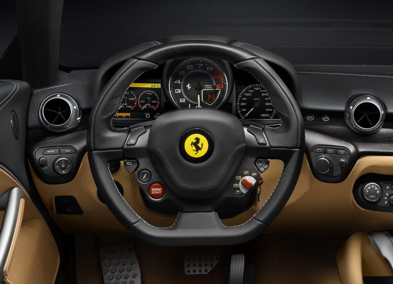 2013 Ferrari F12 Berlinetta Top Speed