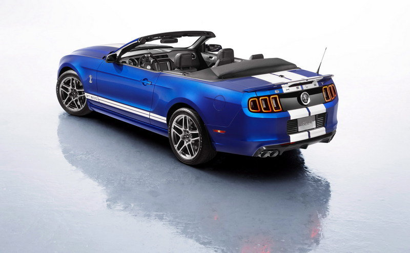 2013 Ford Mustang Shelby GT500 Convertible High Resolution Exterior - image 437251