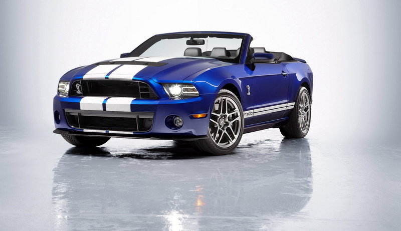 2013 Ford Mustang Shelby GT500 Convertible High Resolution Exterior Wallpaper quality - image 437250