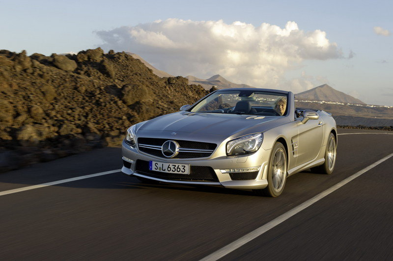 2013 Mercedes-Benz SL63 AMG High Resolution Exterior - image 439203