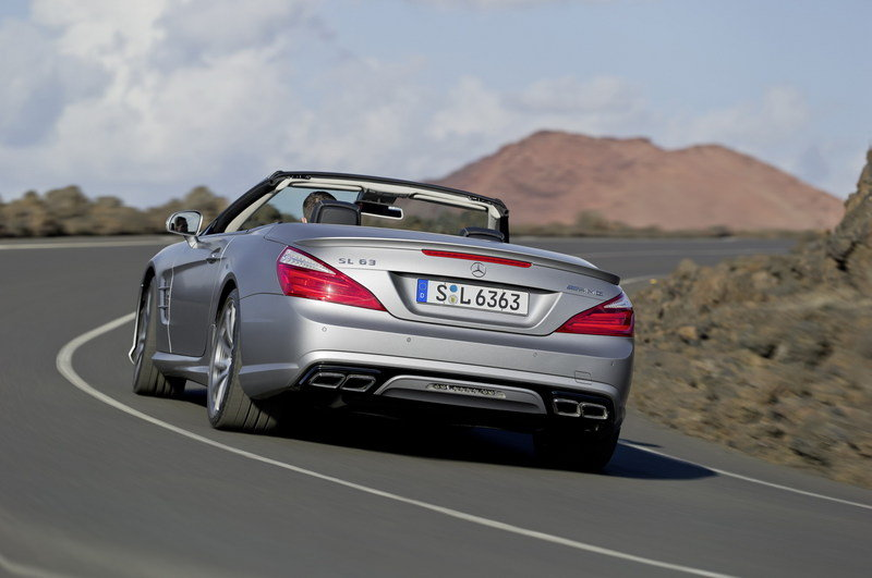 2013 Mercedes-Benz SL63 AMG High Resolution Exterior - image 439204