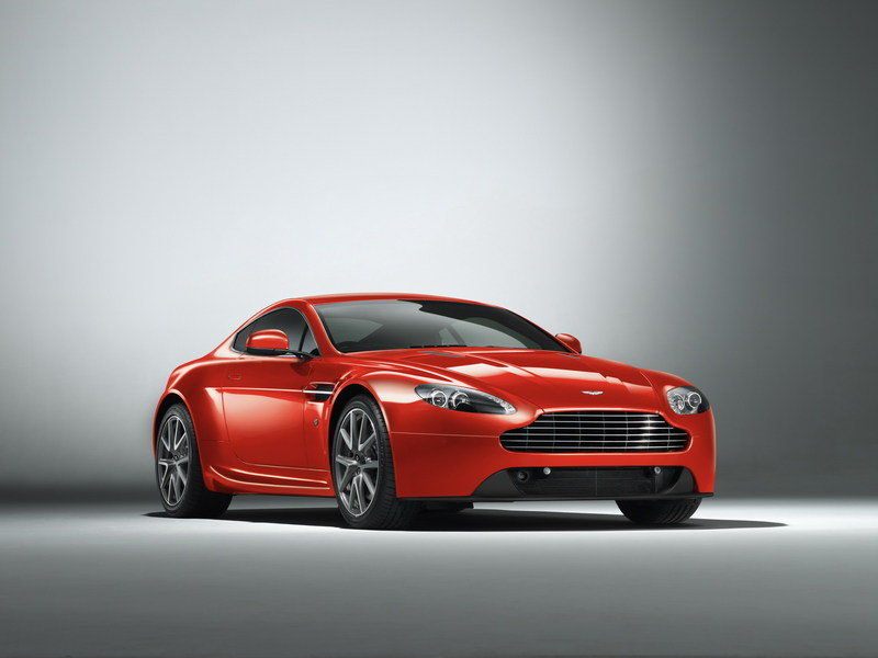 2013 Aston Martin Vantage High Resolution Exterior - image 438942