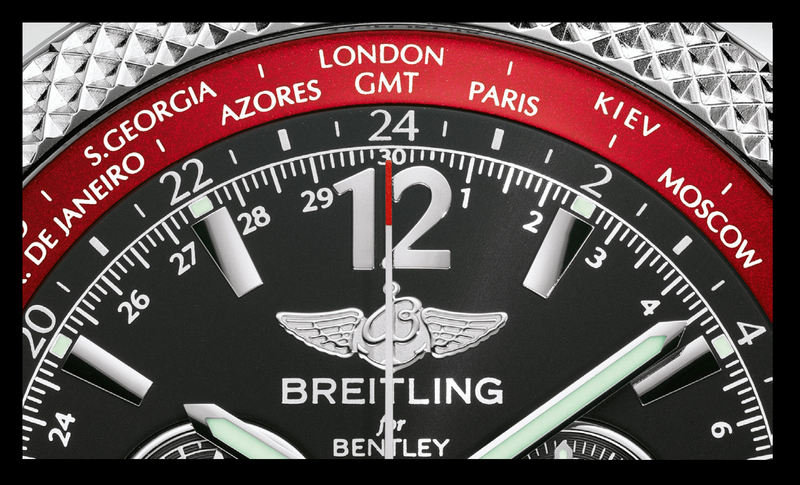 Breitling Bentley GMT V8 Limited Edition Timepiece