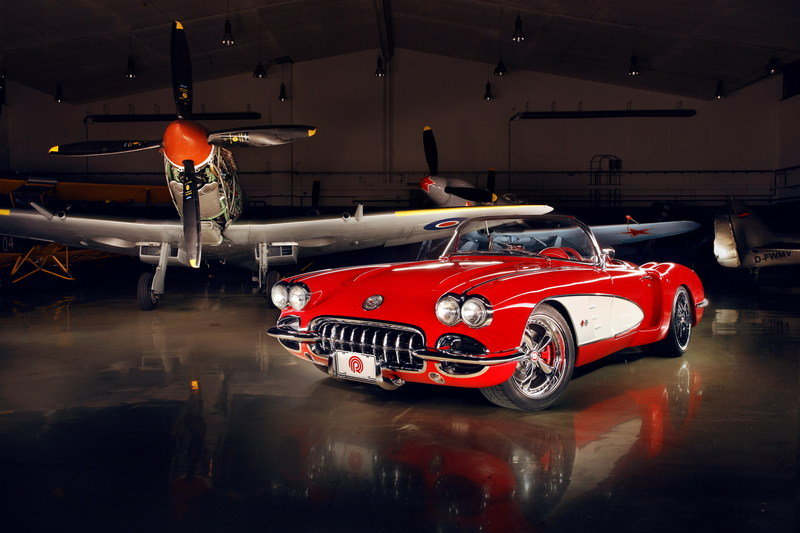 1959 Chevrolet Corvette by Pogea Racing High Resolution Exterior Wallpaper quality - image 436437