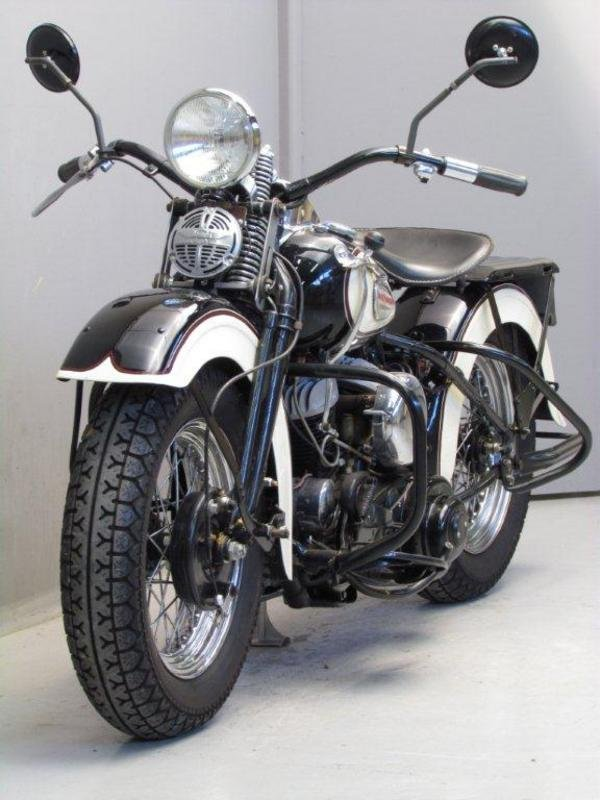 1942 Harley Davidson Wla 42 By Posh Factory Picture