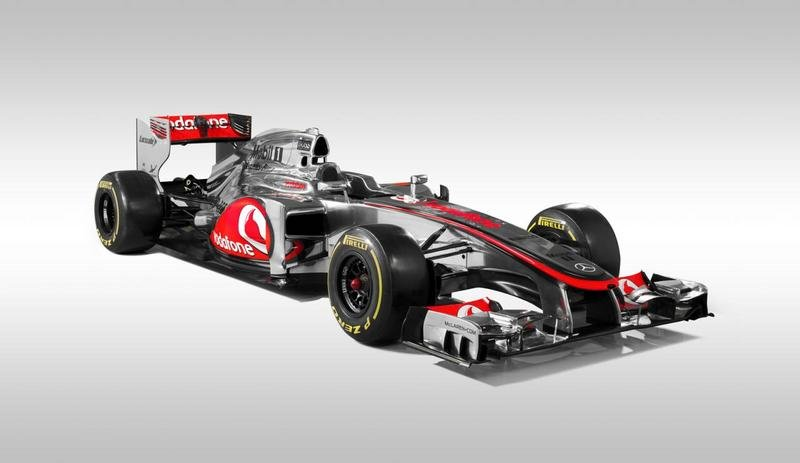 2012 McLaren MP4-27 Formula 1 Race Car