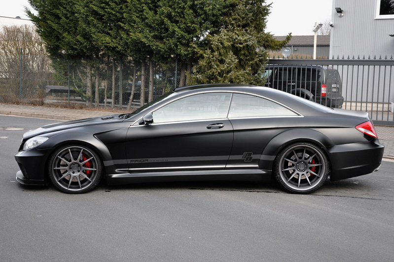2012 Mercedes CL C216 Black Edition by Prior Design