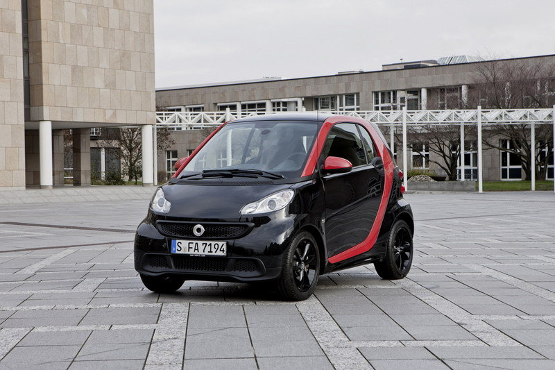 2012 Smart Fortwo Sharpred Special Edition
