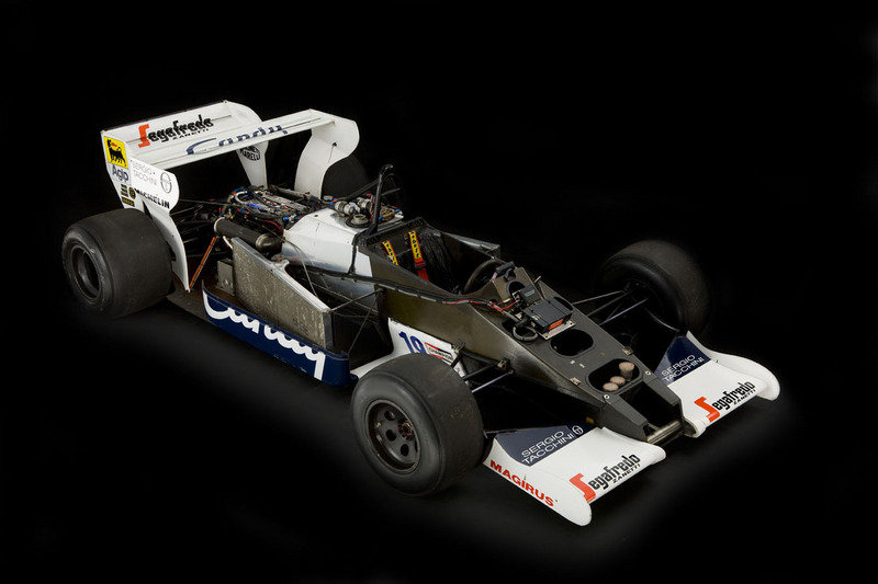 Toleman TG184-2: Ayrton Senna's first F1 car High Resolution Exterior - image 445278