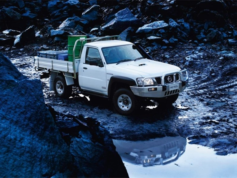 2008 Nissan Patrol chassis cab
