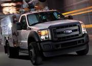 Conventional Cab Ford Super Duty Chassis Cab