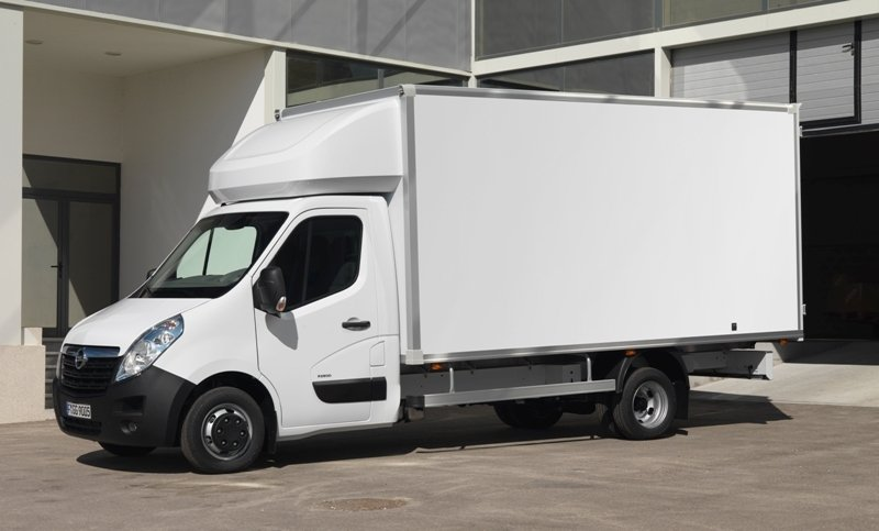 2011 Opel Movano Chassis Cab