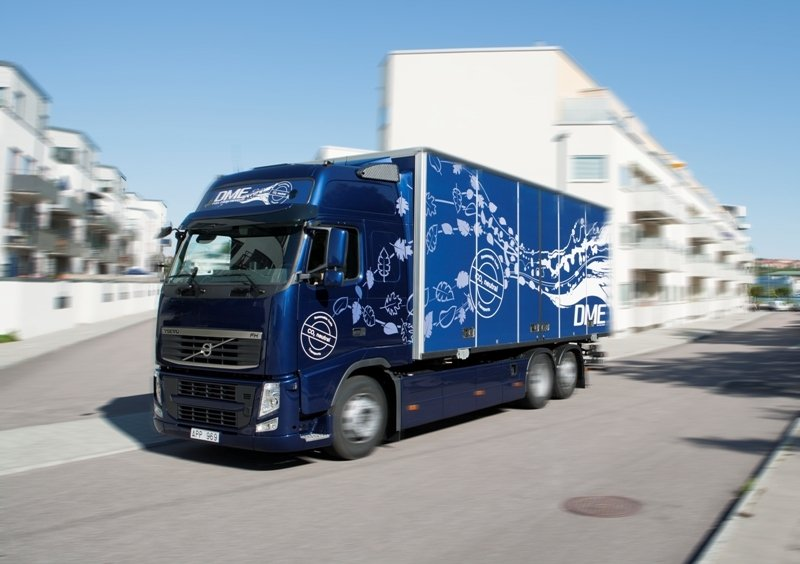 2011 Volvo's project with Bio-DME fuel for commercial vehicles has a bright future