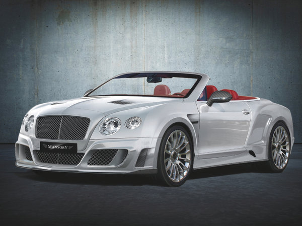 2012 Bentley Continental GT Convertible LE MANSORY II By