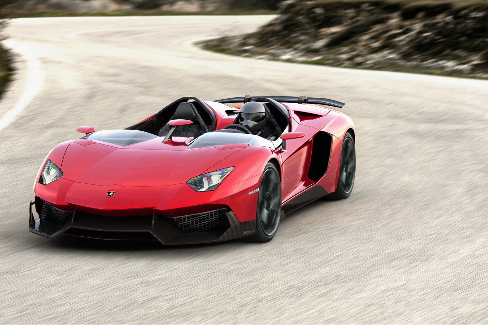 2012 Lamborghini Aventador J Top Speed