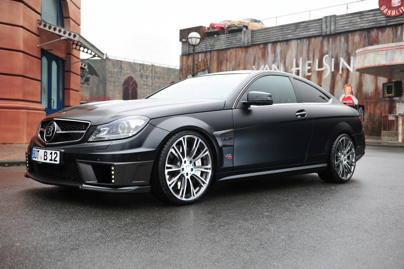 2012 Mercedes C-Class Bullit Coupe by Brabus High Resolution Exterior - image 442072