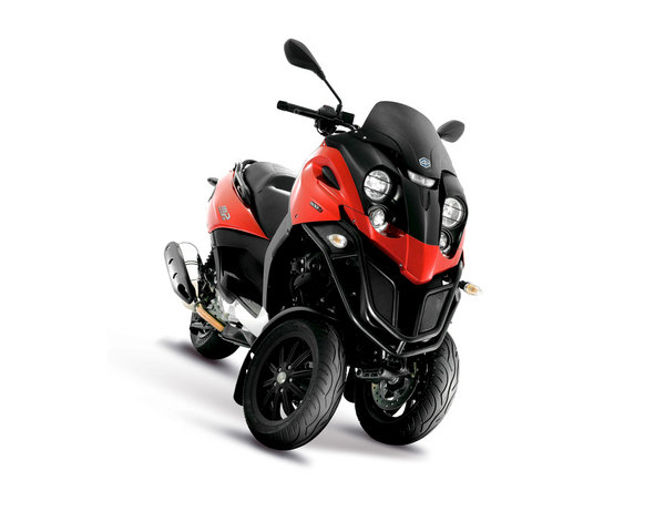 2012 piaggio mp3 500 review - top speed