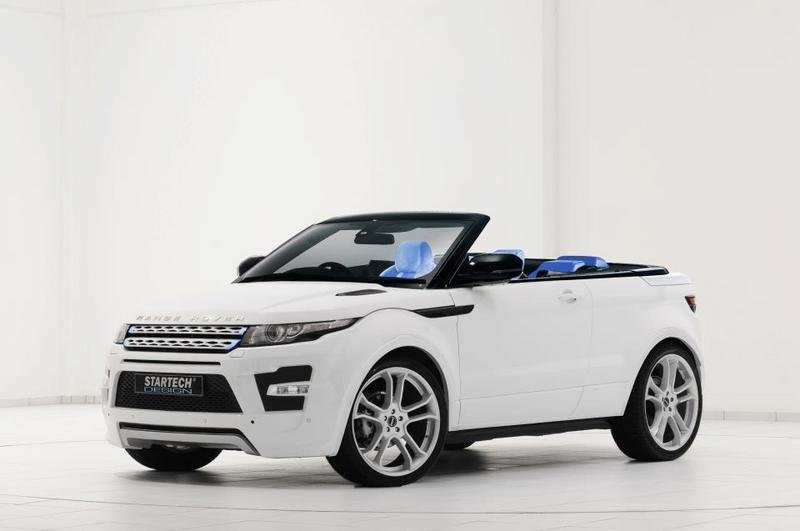 2012 Range Rover Evoque Convertible By Startech Top Speed