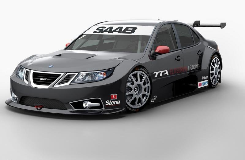 2012 Saab 9-3 TTA Race Car