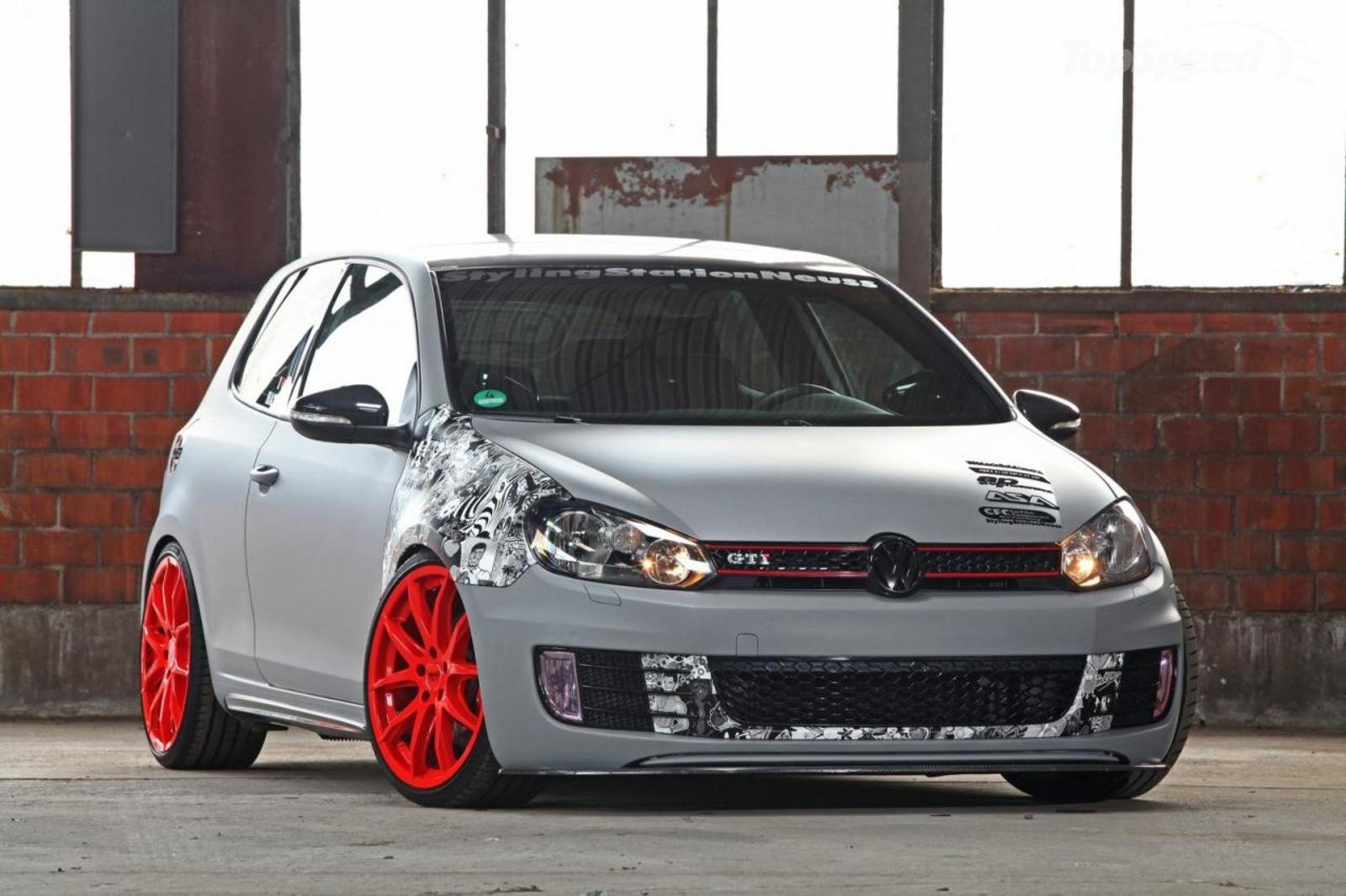2012 volkswagen golf vi gti leitgolf by cfc stylingstation review top speed. Black Bedroom Furniture Sets. Home Design Ideas
