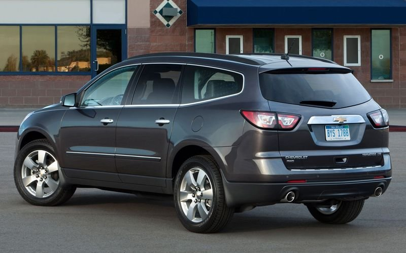 2013 - 2014 Chevrolet Traverse High Resolution Exterior - image 445830