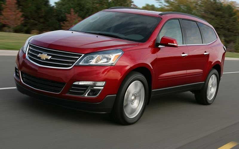 2013 - 2014 Chevrolet Traverse High Resolution Exterior - image 445820