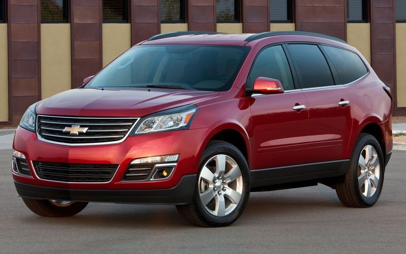 2013 - 2014 Chevrolet Traverse High Resolution Exterior - image 445821