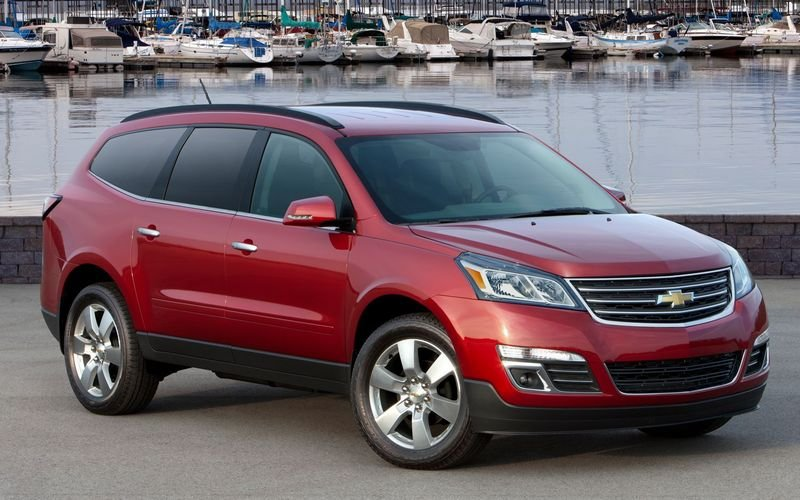 2013 - 2014 Chevrolet Traverse Exterior - image 445822