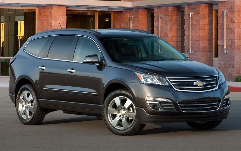 2013 - 2014 Chevrolet Traverse High Resolution Exterior - image 445823